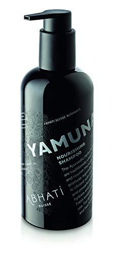 Abhati Suisse YAMUNA Pflegeshampoo 300ml - pflegendes Shampoo mit entgiftender Wirkung für Haare und Kopfhaut, 100% pflanzliche Inhaltsstoffe, vegan, ohne Sulfate und Parabene