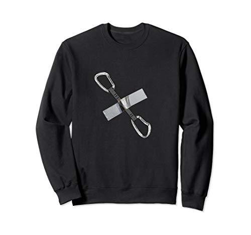Eisklettern Axt banana Duct tape Bouldern Sichern T-Shirt Sweatshirt