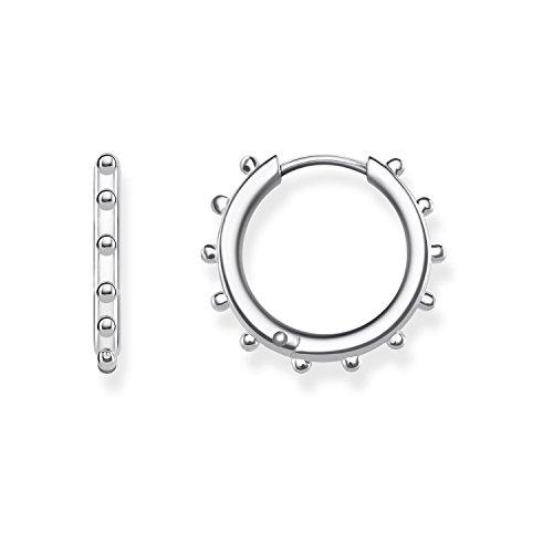 Thomas Sabo Pendientes de aro Mujer plata - CR617-001-21