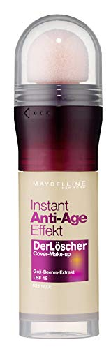 Maybelline New York Instant Anti-Age Löscher Foundation Nr. 21 Nude Beige, 20 ml