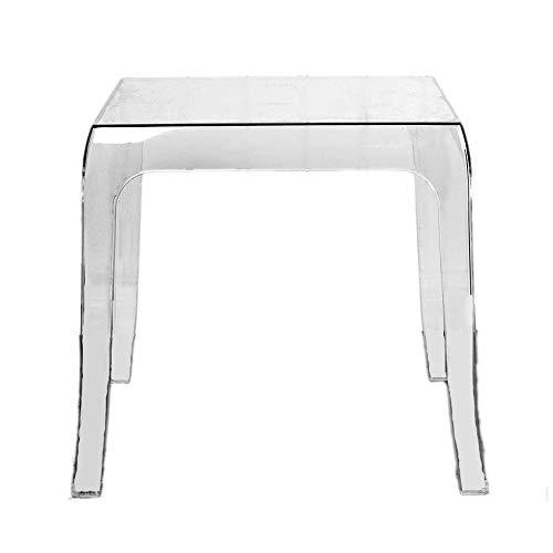 HAIYANG Perspex Acrilico Tavolino d'appoggio,Tavolino da Salotto Transparent