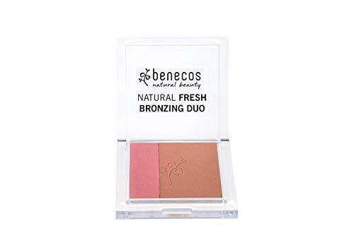 Duo bronzer et blush naturel - Certifié BDIH et Vegan - Benecos
