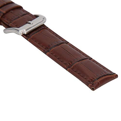 Banda de reloj de pulsera, Correa de reloj, Cuero de PU para todos los relojes Uso doméstico Relojero Hombres Mujeres