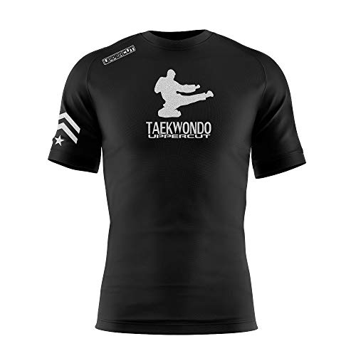 Uppercut Camisa Taekwondo Dry Tech UV-50, GG, Preta