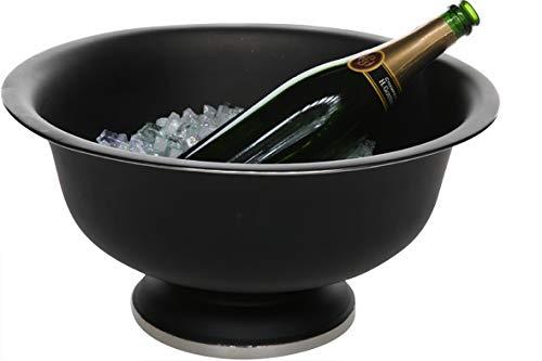 COSY&TRENDY- Seau à champagne noir / inox D41xH20cm Black
