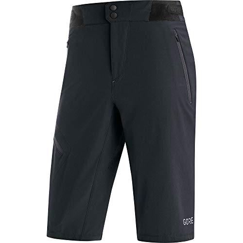 GORE WEAR C5 Kurze Herren Fahrradhose, XL, schwarz