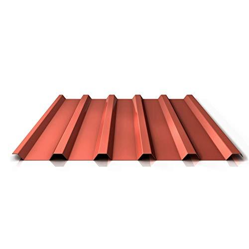 Trapezblech | Profilblech | Dachblech | Profil PS35/1035TR | Material Stahl | Stärke 0,63 mm | Beschichtung 25 µm | Farbe Kupferbraun