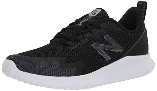 New Balance Women's NB Ryval Run V1 Shoe, Black/Orca, 12 Wide