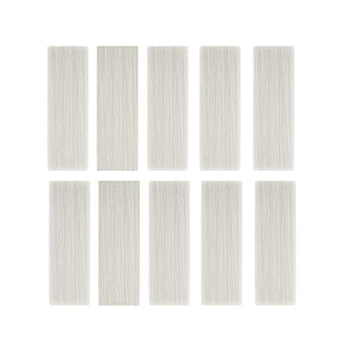 TaoToa 10 Piezas Autoadhesivas Pegatinas de PVC de Grano de Madera, una Prueba de Agua, para Sala, Cocina, Dormitorio, Ba?O, DecoracióN de Azulejos Blancos