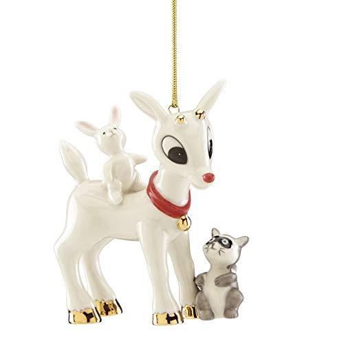 Lenox 884736 Rudolph's Furry Friends Ornament