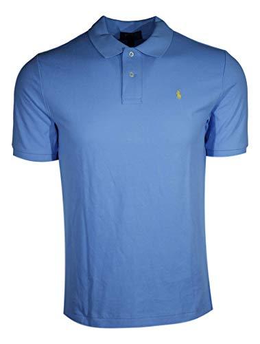 Polo Ralph Lauren Kinder Poloshirt Gr. M, Hellblau (gelbes Pony)