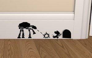 Star Wars ATAT vs MOUSE Skirting Board...