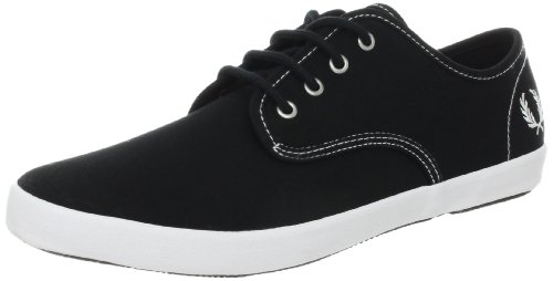 Fred Perry Scarpa Sneaker Uomo Donna Unisex Canvas Nero Art. B2153 40 EU - 7,5 USA - 6,5 UK Nero - Black