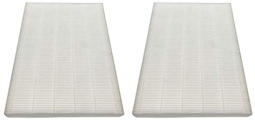 Nispira HEPA Filter Replacement Compatible with Sharp Filter FZ-A60HFU Plasmacluster Air Purifier FP-A60U. 2 Filters