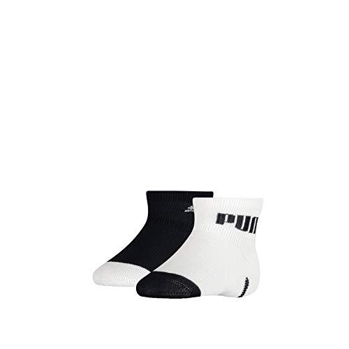 PUMA Baby Mini Cats Lifestyle Socks (2 Pack) Calzini, Blu Navy/Bianco, 19/22 EU (Pacco da 2) Unisex-Bimbi