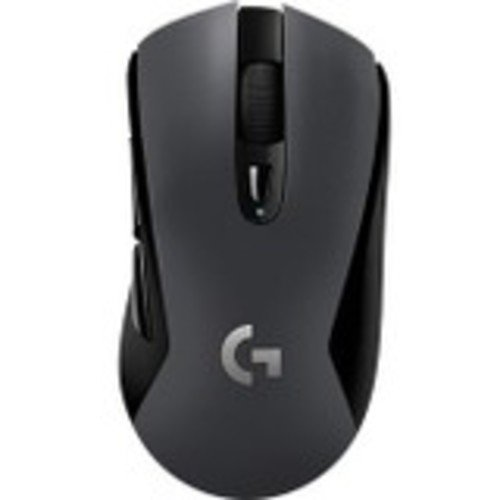 Logitech G603 Lightspeed Wireless Gaming Mouse - Optical - Wireless - Bluetooth/Radio Frequency - Black - USB - 12000 dpi - Scroll Wheel - 6 Button(s) - Right-Handed Only (Renewed)