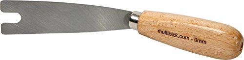 Nußmesser 9 mm gekröpfte Ausführung für Tür Beschlagheber von Multipick für den Schlüsseldienst