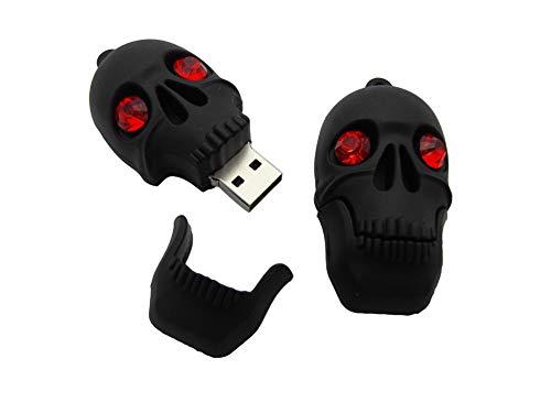 USB-Stick Flash Drive Speicherstick USB-Flash-Laufwerk Memory Stick Thumb Pen USB2.0 Horror Süß Halloween Geister Monster Serie Zombie Maske Skull Pirat Mummy Skelette Kürbis Lustig Horror (64GB,L)