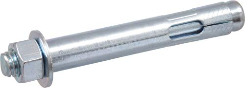 The Hillman Group 370814 Hex Head Sleeve Anchor, 5/8 X 4-1/4-Inch, 10-Pack