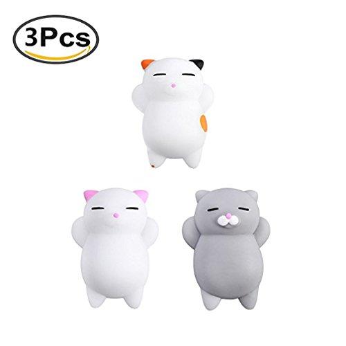 Nette Katze Squishy Anti Stress Squishy Langsam Rising Spielzeug Squeeze Spielzeug Stress Relief Spielzeug