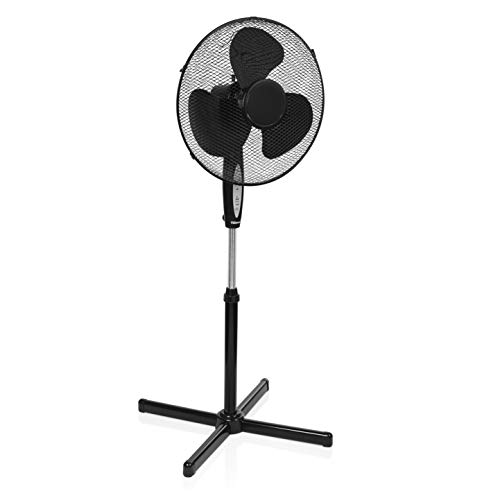 Tristar ve-5899 - ventilador de pie, 40 cm, control remoto, color negro
