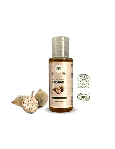 ऑर्गेनिक बाओबाब वनस्पति तेल, वर्जिन, कोसमोस इकोसर्ट द्वारा प्रमाणित Certified