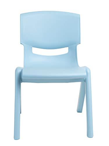 Bieco Kinderstuhl bis 80 kg belastbar, stapelbar & kippsicher | Für Innen und Außen | Kinder Stuhl | Sitzbank Kinder | Stuhl Kleinkind | Kindertisch mit Stühle | Sitzhocker Kinder | Safety 1st