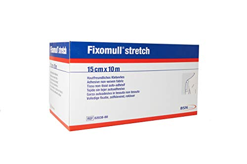 Fixomull Stretch kleefstrips, 10 m x 15 cm