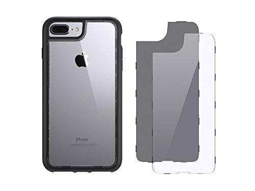 Griffin GB42900 Survivor Adventure beschermhoes voor Apple iPhone 7 Plus/7 Plus Dual/6S Plus/6 Plus zwart/rook/helder, Survivor Adventure, iPhone 7+/7+ Dual/6s+/6+, zwart/rook/helder