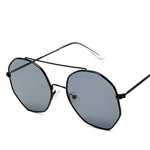 WZYMNTYJ Sonnenbrille Frauen Männer Sonnenbrille Hexagon Polygon Kleine Brillen Eyewear Shade HD Objektiv Weibliche Moderne Unisex Mode