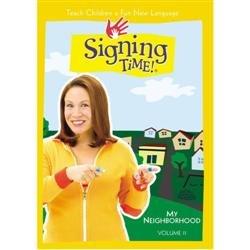 Signing Time My Neighborhood Dvd