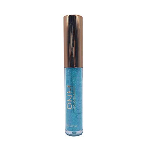 AMhomely Polarisierte Lipgloss-Meerjungfrau bunter perlglanzender Lipgloss - Wasserdichte langlebige Flüssigkeit Polarize Light Lipstick Makeup Lip Gloss Lip (F)