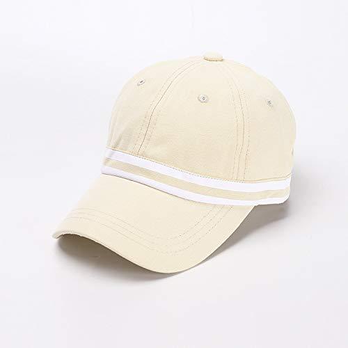 wopiaol Chapeau pour Enfants Nouvelle Version coréenne en Coton du Chapeau de pêcheur à Double Bande pour bébé, Tendance Simple, Casquette de Baseball garçon et Fille