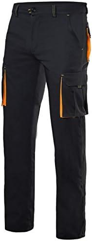 Velilla 103008s C8 20 T46 Pantalones Gris Y Amarillo Fluorescente 46 Amazon Es Bricolaje Y Herramientas