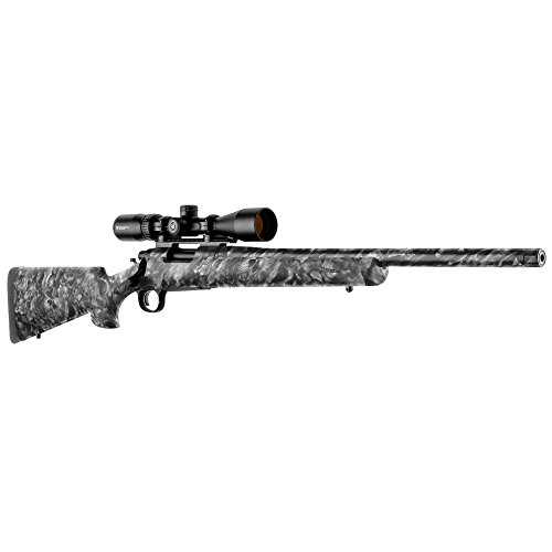 GunSkins Rifle Skin - Premium Vinyl Gun Wrap with Precut Pieces - Easy to Install and Fits Any Rifle - 100% Waterproof Non-Reflective Matte Finish - Made in USA - Proveil Reaper Black
