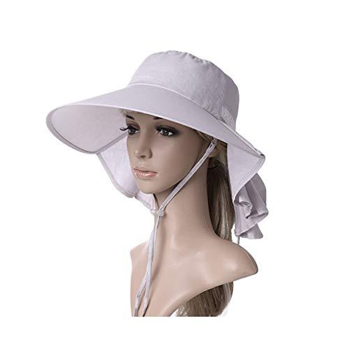 Ericcay Sombreros Verano Elegante Damas El para Protección Sombrero con Sol Estilo...