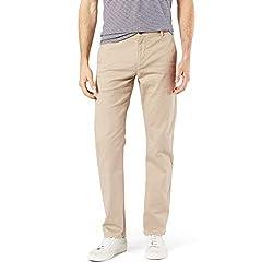 commercial Dockers Men's Big and Tall Classic Fit Original Khaki Pants, Dockers Khaki, 36 38 dockers underwear