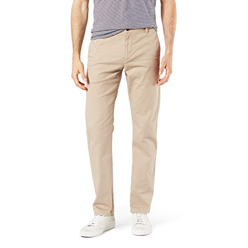 affodable Dockers Men's Big and Tall Classic Fit Original Khaki Pants, Dockers Khaki, 36 38