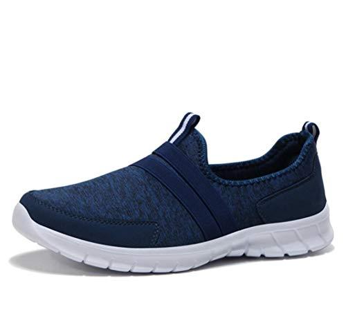 Zapatos Planos de Las Mujeres Zapatillas de Deporte Mocasines Resbalón en la Primavera Zapatillas de Malla Transpirables Zapatillas de Plataforma