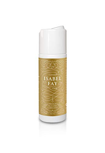 Personal Silicone Lube, Isabel Fay. FDA Cleared Medical Device. Best Silicone Lubricant for Men and Women. Great for Full Body Massage. Long Lasting. Never Sticky.