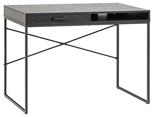 AC Design Furniture Jörn - Tavolo da ufficio, in metallo, 75 x 110 x 45 cm