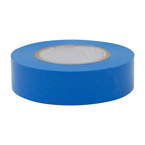 Isolierband, blau, 20 x 19 mm, Elektriker Klebeband, Isoband 20m Rolle, Reparatur-Band, Dichtungsband, hohe Flexibilität und Klebekraft, zum Isolieren und Kennzeichnen