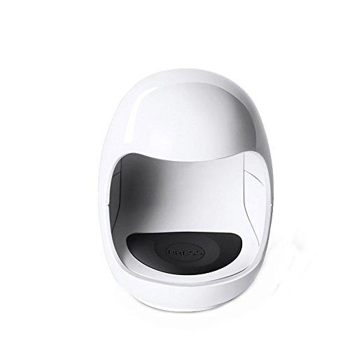LED Nageltrockner Mini USB UV Nagel Gel Aushärtungslampe Licht Nagelgelpoliermittel Trockner Nail Art Maschine Tragbarer UV Nagellampe Geeignet für alle Gel intelligenter Maniküre Werkzeug (Weiß)