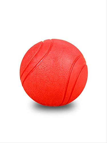 Yunduo Hundetraining, bissfest, Vollgummi-Ball, Springball, Flummer-Spielzeug, Ball, Haustier, Welpen, Teddyzubehör