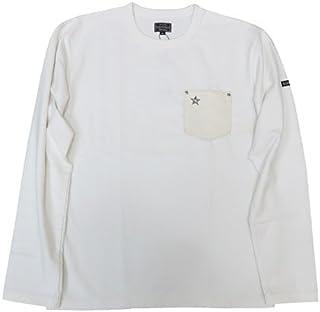 (ショット)Schott 長袖Tシャツ レザーポケット ワンスター クルーネック ヘビーウェイト 3173078