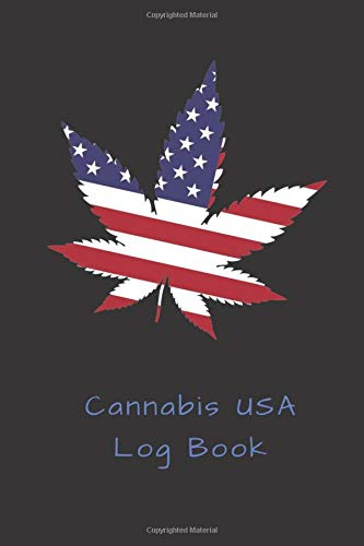 Cannabis USA Log Book: Review Notebook, Guided Journal, Track & Rate, Strain Record Tracker, 6x9, 100 pages, Cannabis, Drug, Weed (Medical Marijuana)