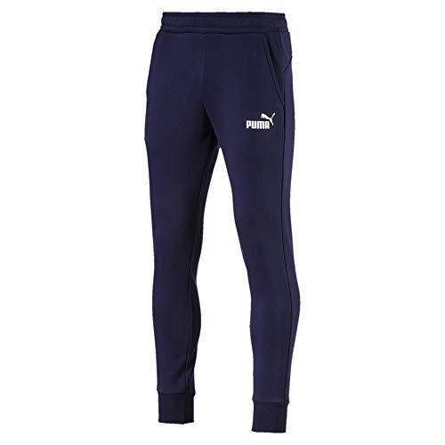 PUMA Ess+ Slim S FL Pants da Uomo Caban M
