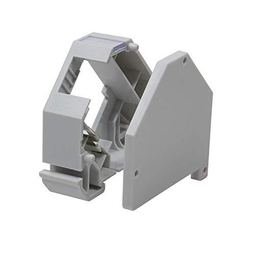 LogiLink Professional MP0053 Hutschienen-Adapter lichtgrau