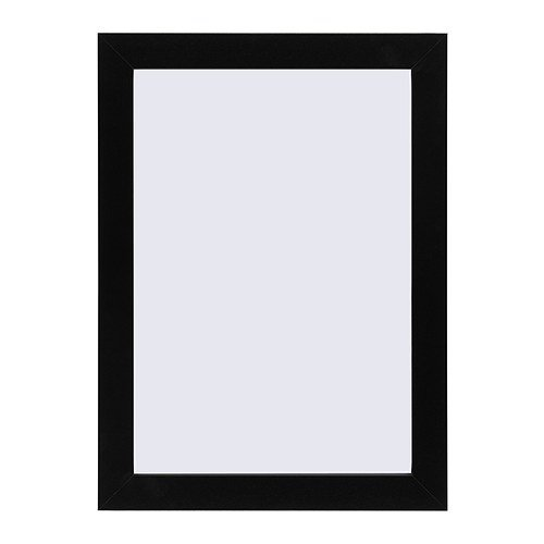 ★NYTTJA フレーム(25×34cm)/ ブラックイケアIKEA(60185736)