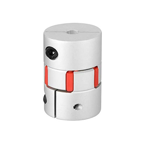 Askoppeling 5mm tot 5mm Boor L34xD25 Flexibele Koppelingsverbinding voor Servo getrapte Motor